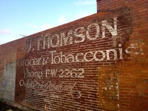 J. Thomson Grocer &Tobacconist
